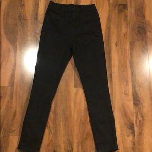 BDG High waist black jeans